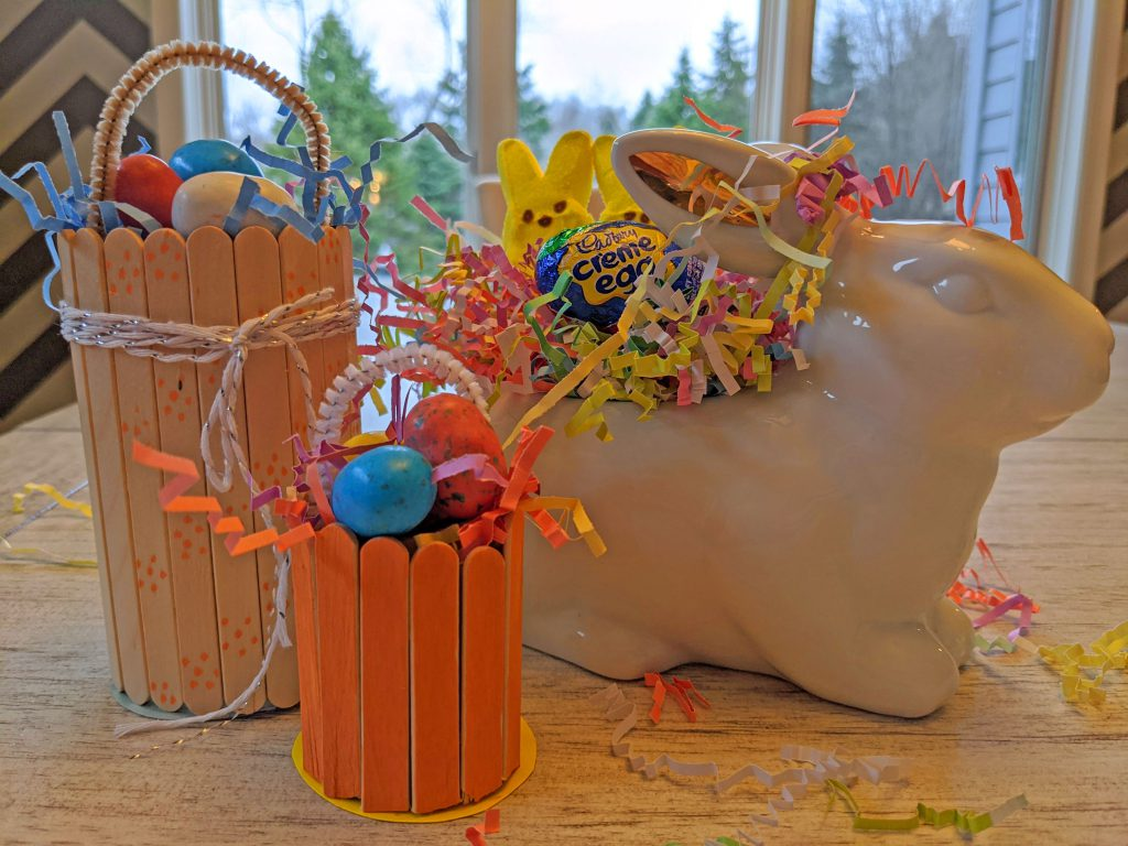 Easter May Day Basket Craft
